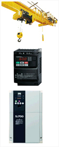 Hitachi Inverter Products - Crane & Hoist Industry