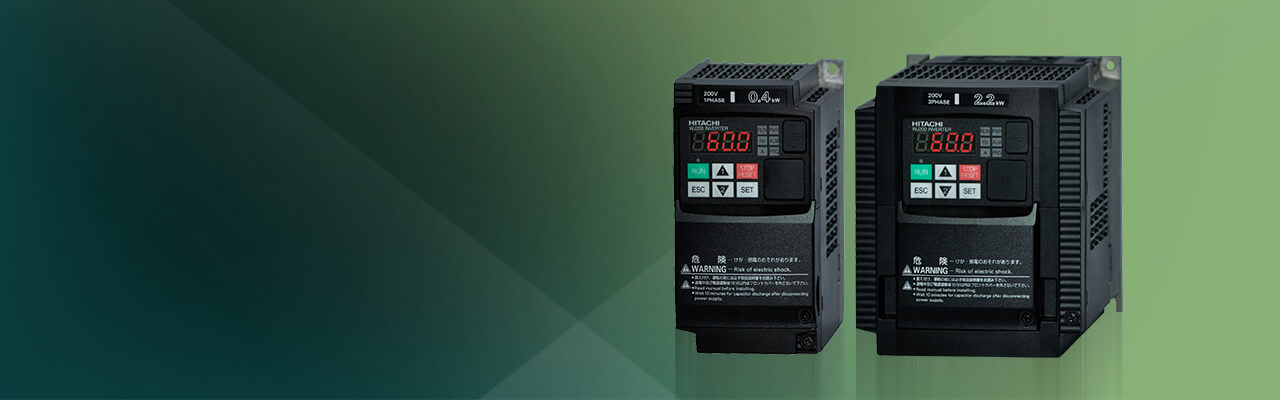 WJ200 Series AC Variable Speed Drives
