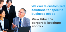 Hitachi's Corporate Brochure eBook