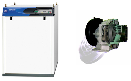 OIL-FREE SCROLL AIR COMPRESSOR