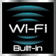 Built-in Wi-Fi