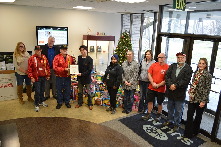 Sullair Toys for Tots