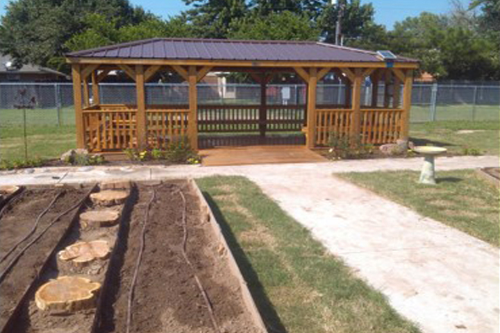 Classroom with Educational Gardening