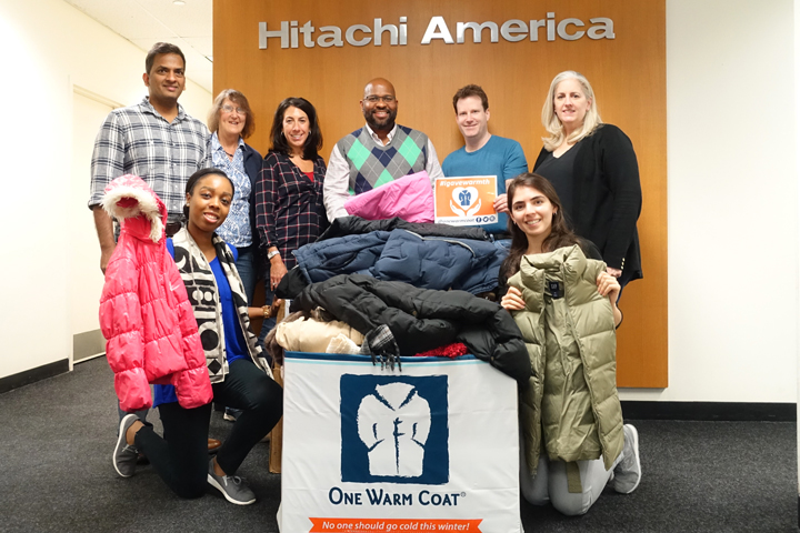 Hitachi Help to Families in Need