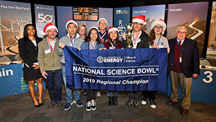 Hitachi SCRCAC Sponsors 2019 Regional Science Bowl