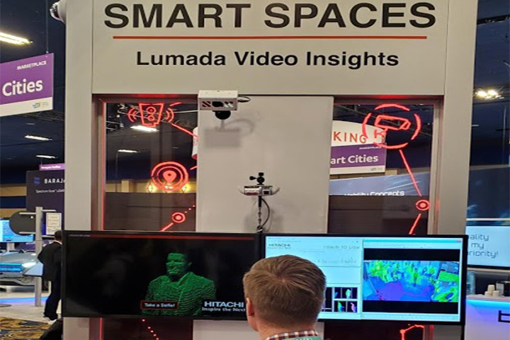 Hitachi smart spaces with Lumada Video Insights at CES 2020