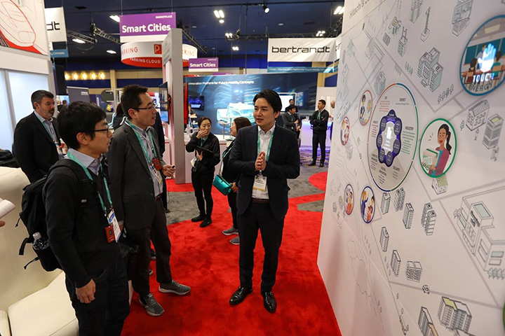 Hitachi Smart cities at CES 2020