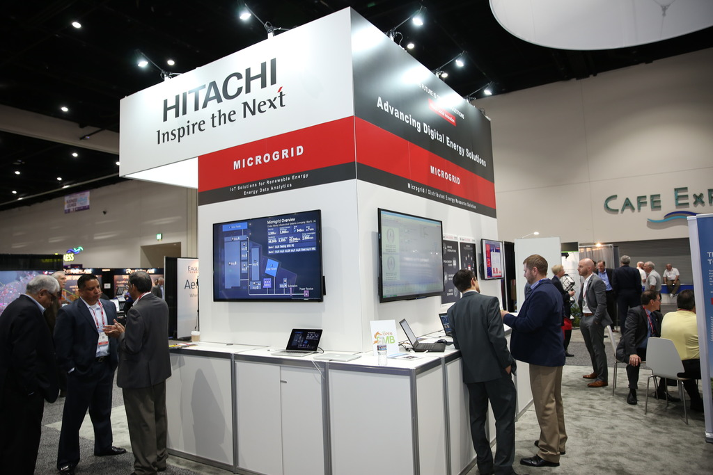 Hitachi at DistribuTECH 2017
