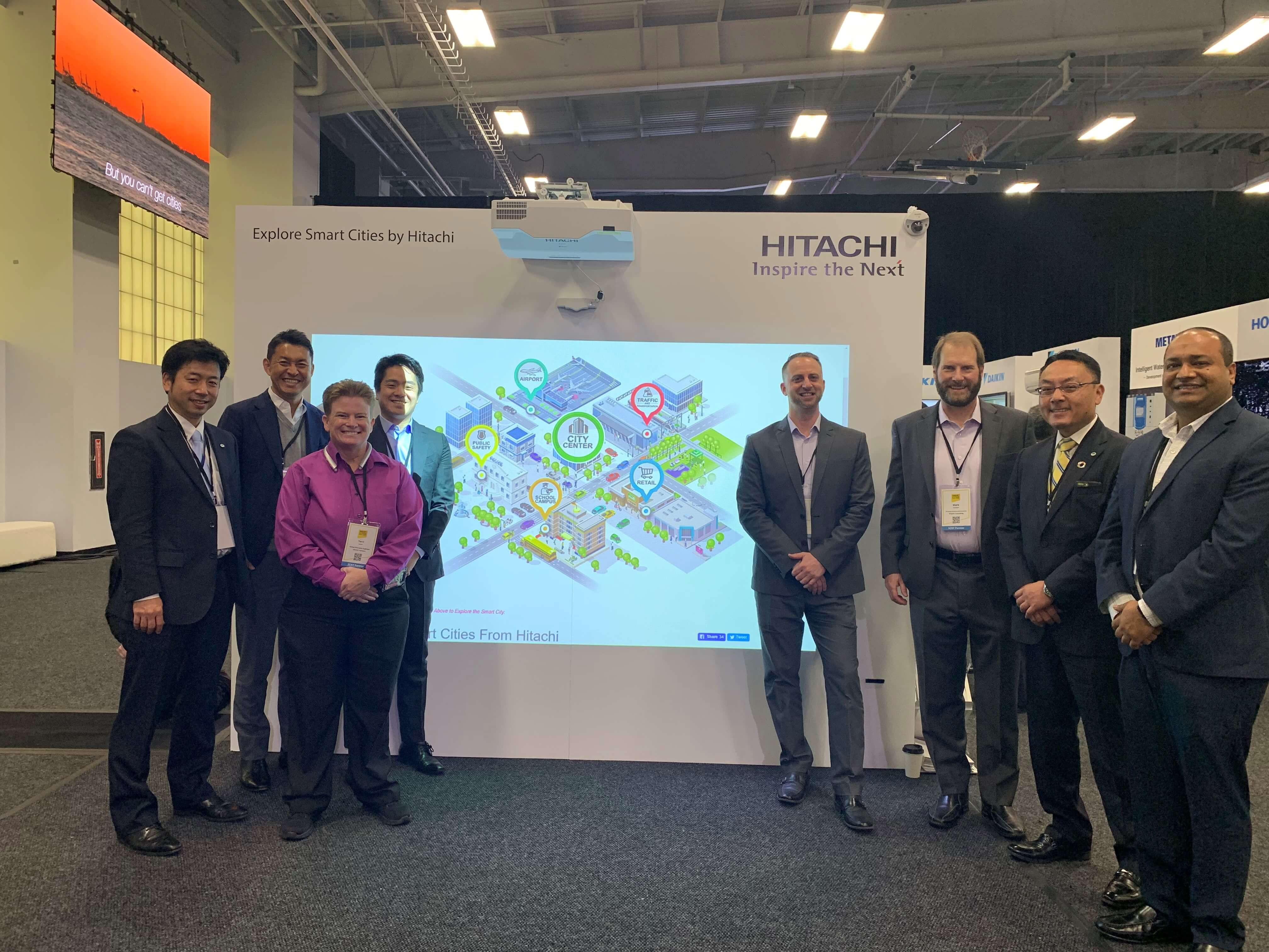 Explore Smart cities by Hitachi at Smart Cities New York 2019