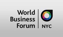 World business forum Luncheon program