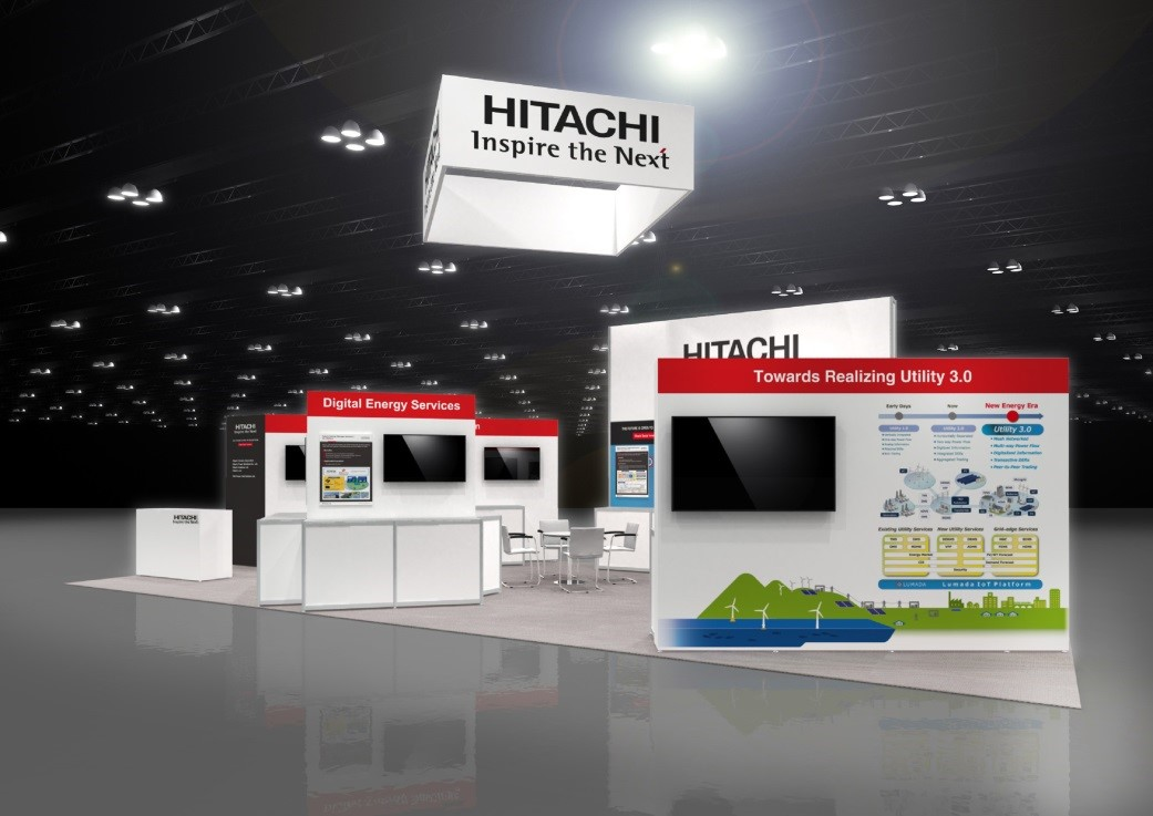 Hitachi Booth in DistribuTECH 2018