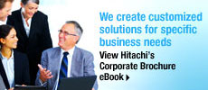 Hitachi Corporate Brochure eBook